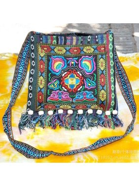 79dd45c0ab8e Product Image EFINNY Multi-Color Thai Embroidered Hill Tribe Totes  Messenger Bag Boho Hippie Hoboed Trousers