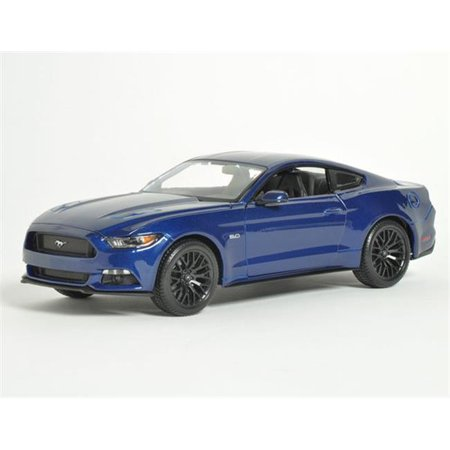 2015 Ford Mustang Car Toys in Blue, 10 Years