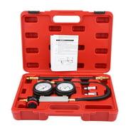 Moksha 4Pcs Cylinder Leak Tester Petrol Engine Compression Leakage Leakdown Detector TU-21,Leakdown Detector, Cylinder Leak Tester