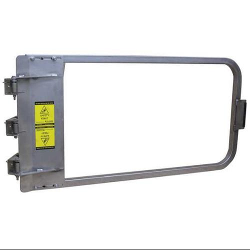 PS DOORS LSG-44-SS-SW Safety Gate, 42-3/4 to 46-1/2 In, SS