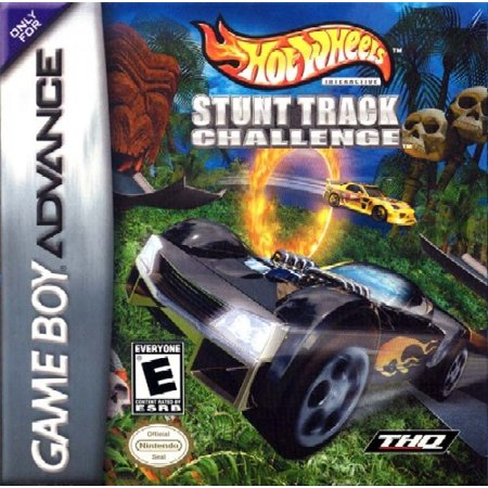 Hot Wheels: Stunt Track Challenge - Nintendo Gameboy Advance GBA (Refurbished)