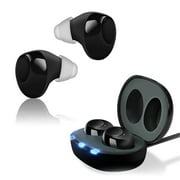 Mini Invisible HearingAid Sound Amplifier Hearing Assistant Helper for Elderly Hearing Loss People