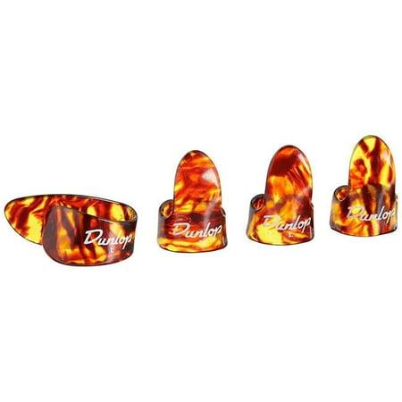 Dunlop 9020TP-U Large Finger Picks - 3 Finger, 1 Thumb Large Thumb Pick