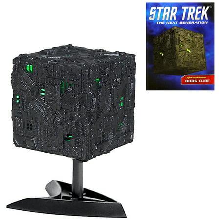 Star Trek Borg Cube The Next Generation Miniature Editon Deluxe Mega Kit 3