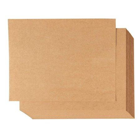 Blank Postcards - 100-Sheet Kraft Paper Postcards, Printable Blank Note Cards for Inkjet and Laser Printers, 2 Per Page 200 Cards in Total, Perforated, 170GSM Cardstock 5.5 x 8.5