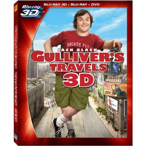 Gulliver's Travels (Blu-ray 3D + Blu-ray + DVD) (With INSTAWATCH) (Widescreen)
