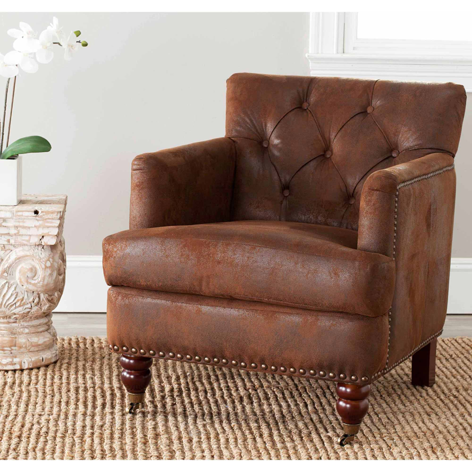 Safavieh Colin Tufted Club Chair by Safavieh