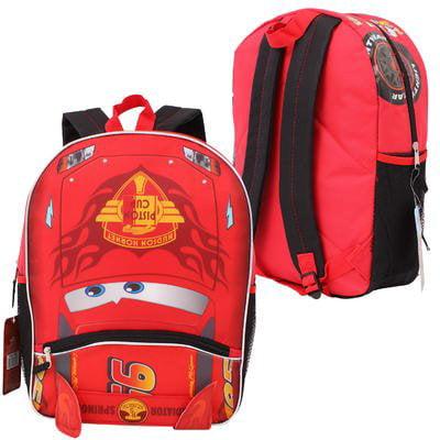c4157661938 CARS - Backpack - - Lightning Mcqueen 16 School Bag New 68088 ...