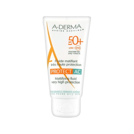Aderma Protect AC Mattifying Fluid Very High Protection SPF 50 40ml