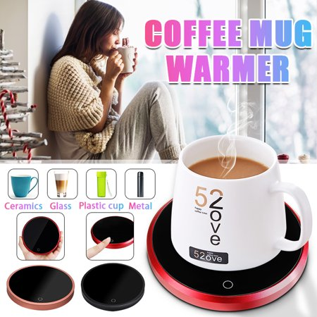55℃ Electric Cup Warmer Drink Tea Coffee Heater USB Heating Pad Mug Tray Mat for Most Glass/Ceramics/Metal/Plastic Cup