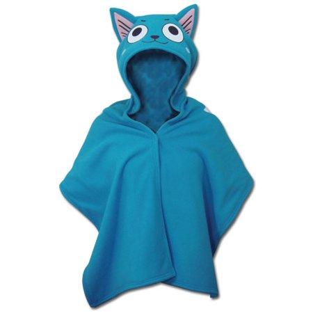 Hoodie Blanket - Fairy Tail - New Happy Short Throw Anime Licensed ge34028 - image 1 of 1