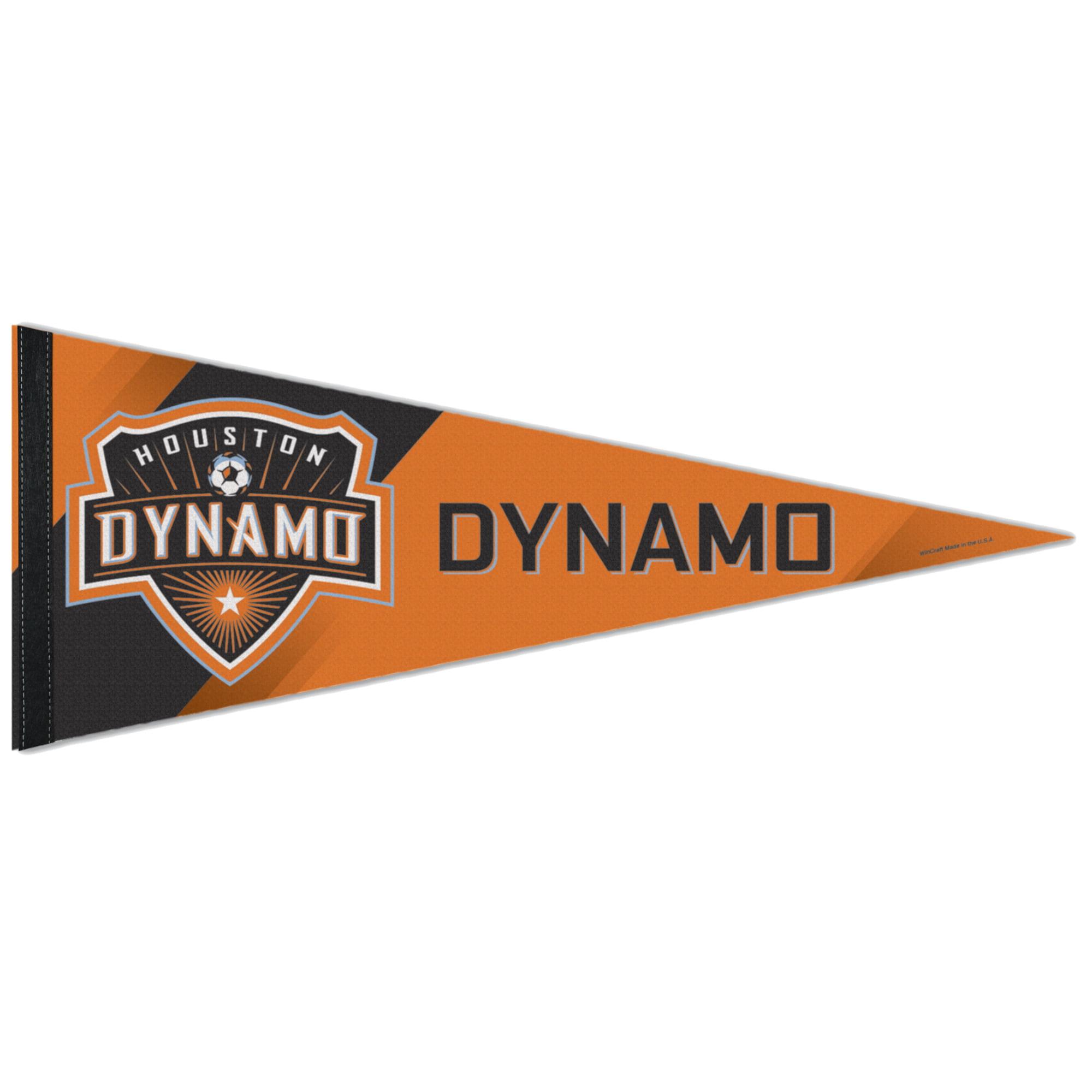 "Houston Dynamo WinCraft 12"" x 30"" Premium Pennant - No Size"