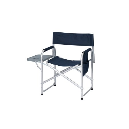 Folding Directors Chair Outdoor Camping Fish Chair Casual Seat w/Side Table Bag ()