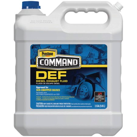 Diesel Exhaust Fluid >> Prestone Command Def 2 5 Gallon