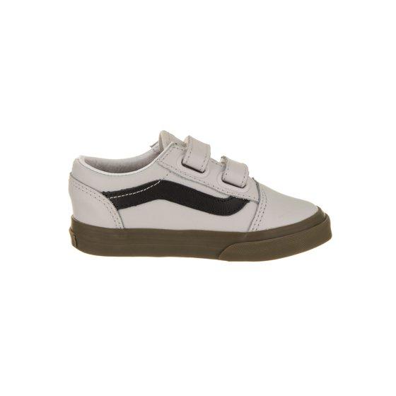a5b5b43f8a9a Vans - Toddlers Old Skool V (Bleacher) Skate Shoe - Walmart.com