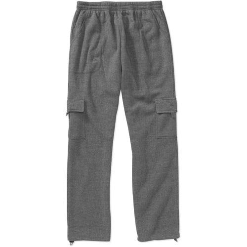 Men's Cargo Fleece Sweatpant