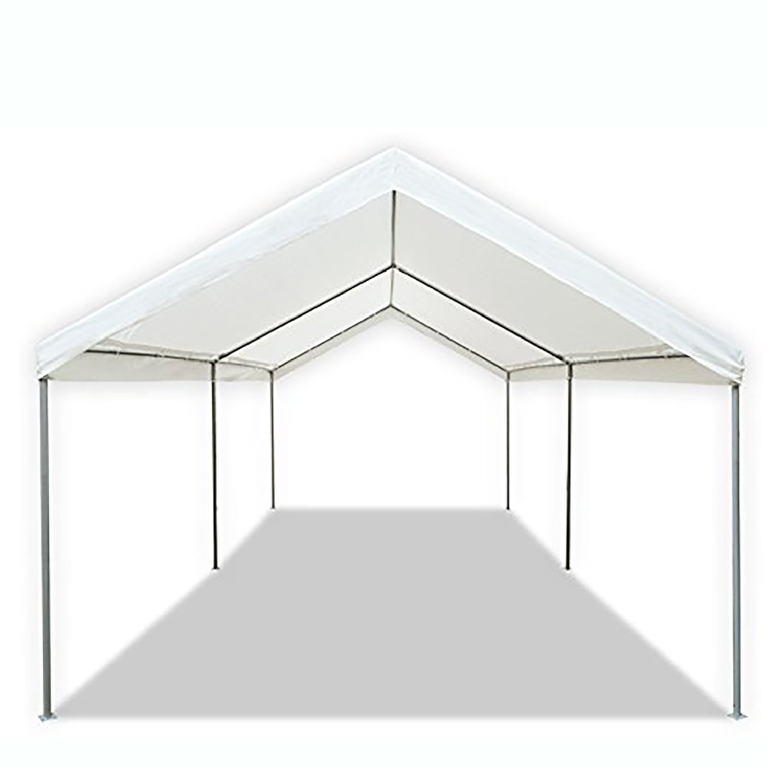 Carport Canopy Garage Tent Cover Steel Frame Portable ...