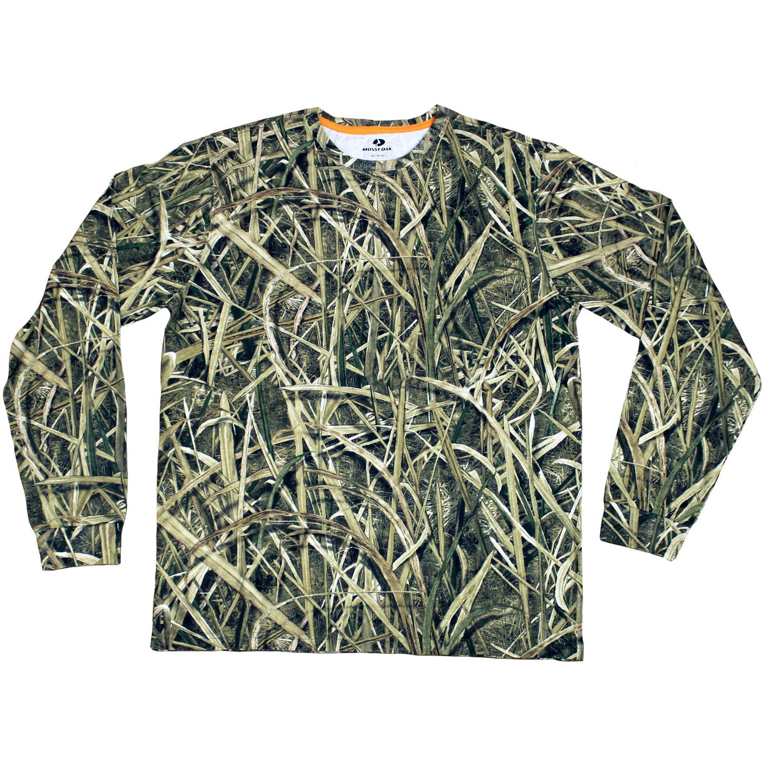Men's Long Sleeve Camo Tee, Available in Multiple Patterns