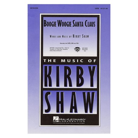 Hal Leonard Boogie Woogie Santa Claus Combo Parts Composed by Kirby Shaw
