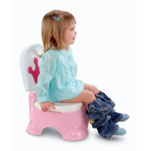 Fisher-Price Princess Stepstool Potty Training Seat  sc 1 st  Walmart : potty chair step stool - islam-shia.org