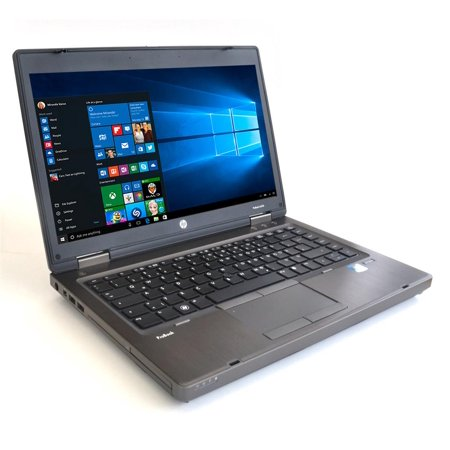 "Refurbished HP ProBook 6465b Laptop, AMD A4 Dual Core 2.1GHz, 4GB DDR3, 160GB SATA HDD, DVDRW, 14"", Charger, Windows 10 Home 64bit w/ Restore Partition"