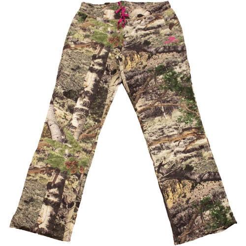 Mossy Oak Women's Fleece Camo Sweatpants, MO Mountain Country