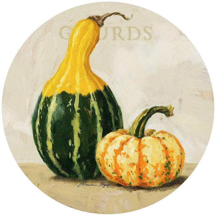 """Andrea's Silicone - 6"""" Non-Slip Jar Opener - Gourds"""