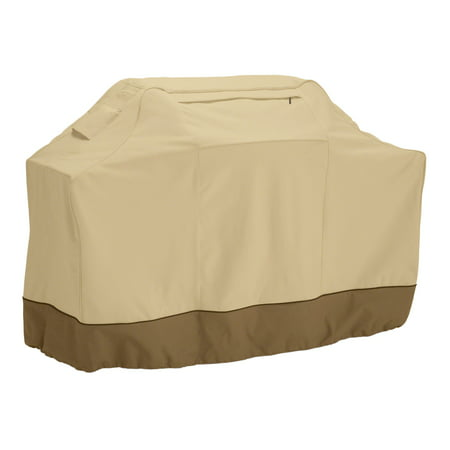 Classic Accessories Veranda Grill Cover - Durable BBQ Cover with Heavy-Duty Weather Resistant Fabric, Large, 64-Inch L,