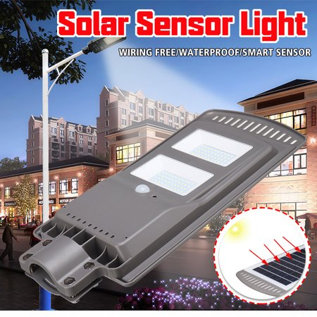 20W/40W/60W Solar Street Light PIR Motion Sensor Outdoor Garden Wall All-in-one Lamp for Park,Garden,Courtyard,Street,Walkway