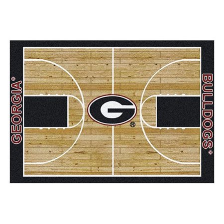 Milliken Ncaa College Home Court Area Rugs   Contemporary 01080 Ncaa College Basketball Sports Novelty Rug