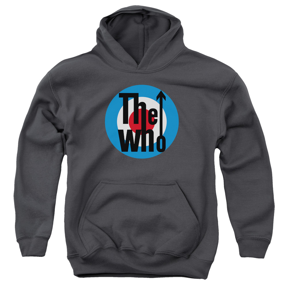 The Who Logo Big Boys Pullover Hoodie