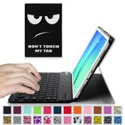 Fintie Samsung Galaxy Tab A 9.7 Tablet Keyboard Case Smart Cover W/ Detachable Bluetooth Keyboard, Don't Touch