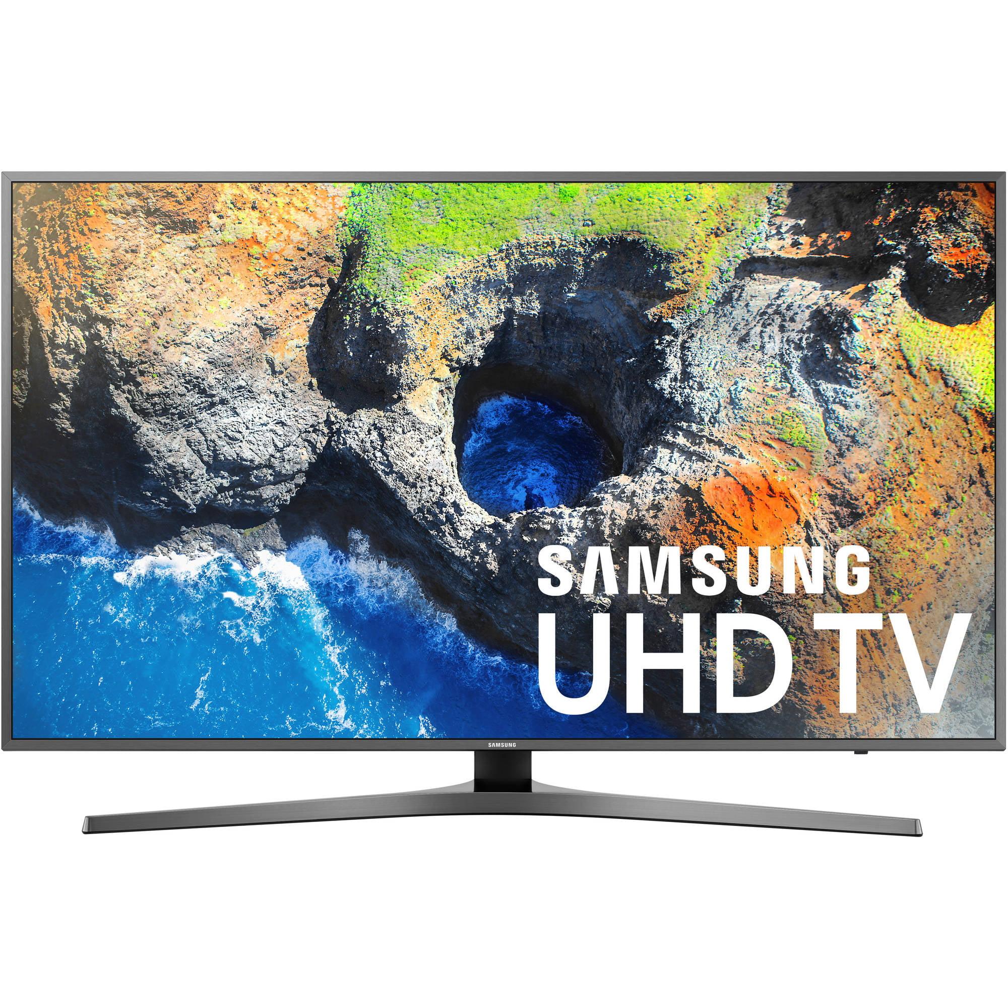 """Samsung 55"""" Class 4K (2160P) Smart LED TV (UN55MU7000) by Samsung"""