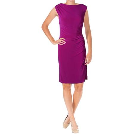 - Lauren Ralph Lauren Womens Vannalyn Matte Jersey Fitted Cocktail Dress