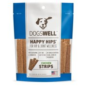 Dogswell Happy Hips Chicken Strips Dog Treats, 5 Oz