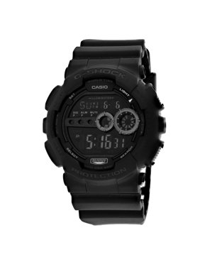 Casio G-Shock Men's Digital Outdoor Watch - Tough, Rugged, Water Resistant, Black - GD100-1B