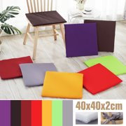 40x40x2cm Multi-colors Soft Comfort Sit Mat Indoor Outdoor Chair Seat Pads Cushion Pads For Garden Patio Home Kitchen Office Park