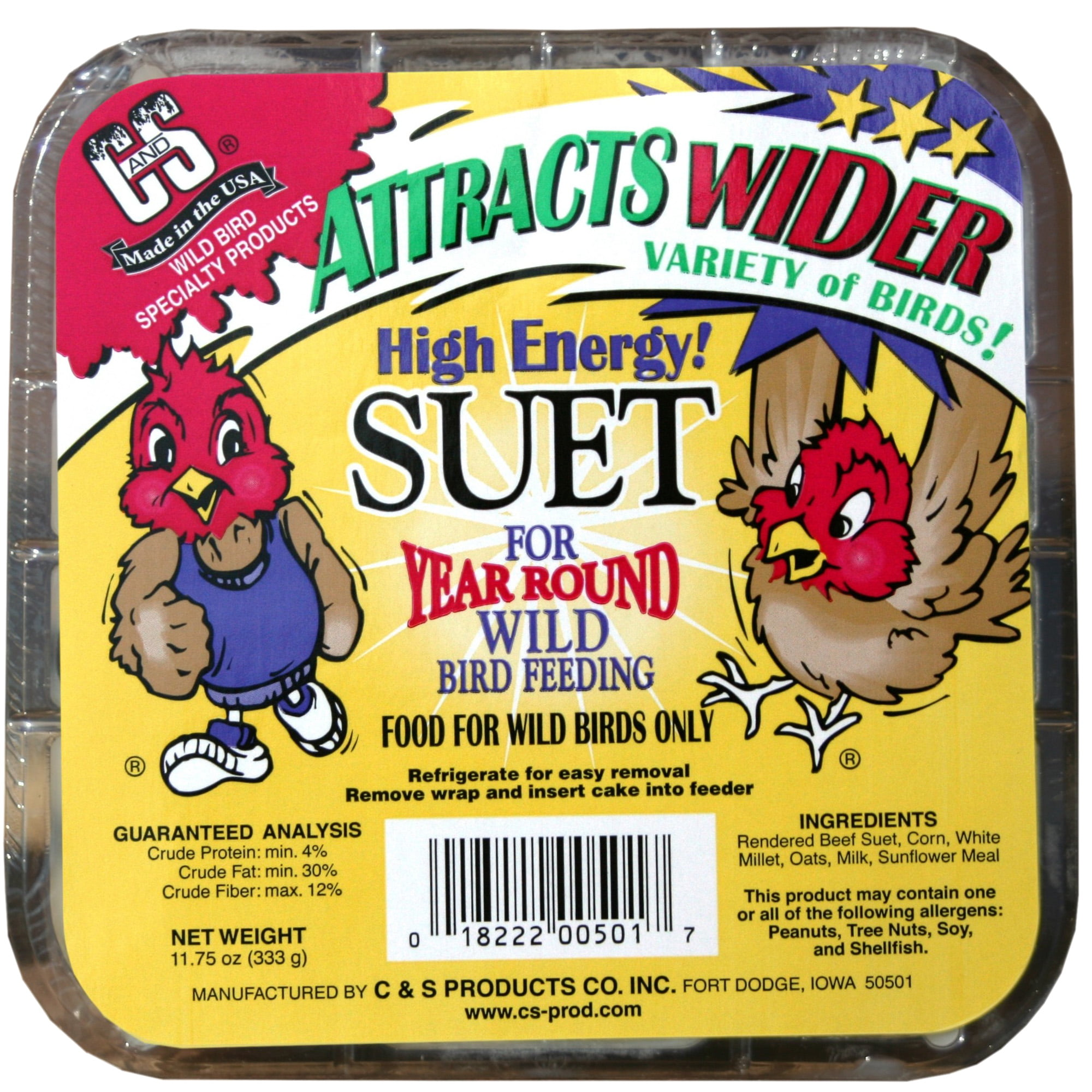 C&S High Energy Suet by C&S Products Co. Inc.