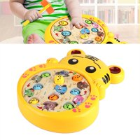 YLSHRF Hit Moles Lovely Kids Musical Toy Electric Puzzle Educational Game Machine, Music Toy, Puzzle Toy