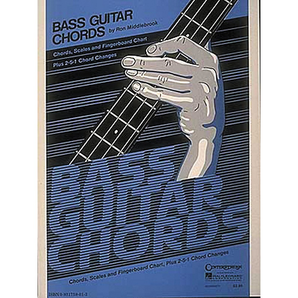 Hal Leonard Bass Guitar Chords Book