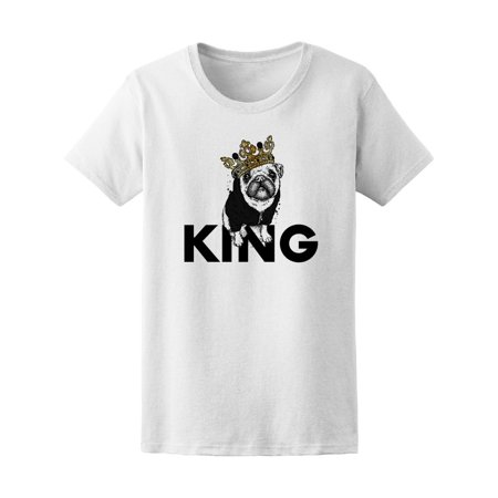 - Pug Dog In Jacket King Tee Women's -Image by Shutterstock