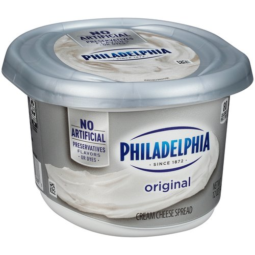 Kraft Philadelphia Original Cream Cheese Spread, 12 oz