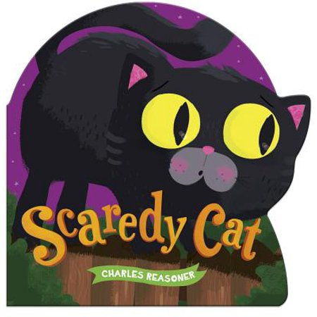 Scaredy Cat (Board Book) - Steven Yeun Halloween