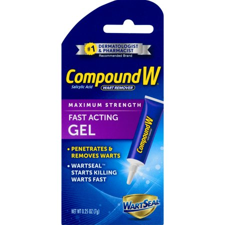 Compound W Wart Remover Fast Acting Gel Maximum Strength, 0.25 Oz
