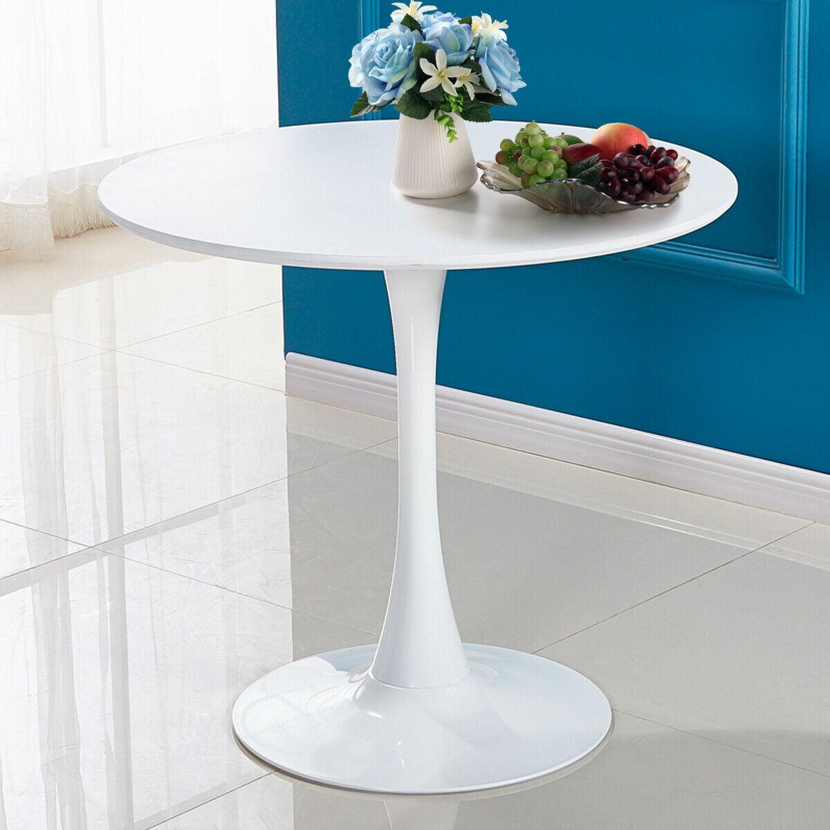 """veryke 32"""" coffee table dining table mdf metal legs"""