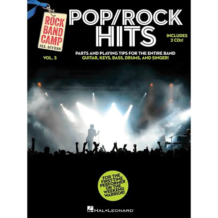 Bass Stage Pack - Hal Leonard Pop/Rock Hits - Rock Band Camp Vol. 3 (Book/2-CD Pack) Vocal, Guitar, Keys, Bass, Drums