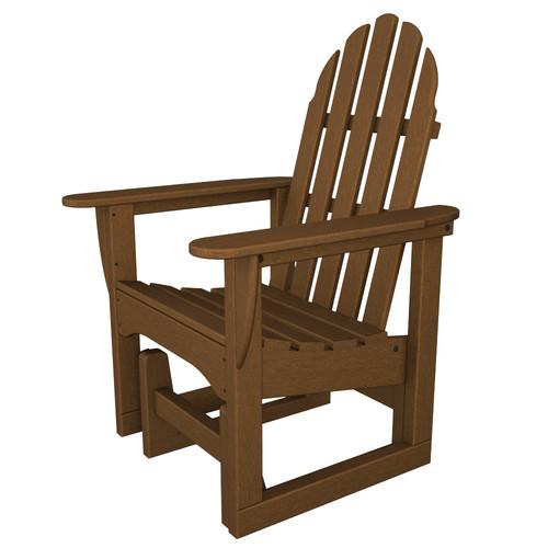 POLYWOOD Adirondack Glider Chair by Adirondack Furniture
