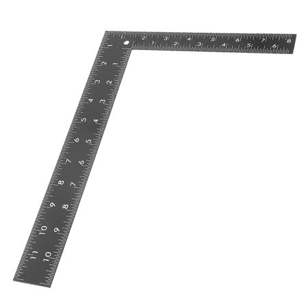 Unique Bargains Woodwork 2-Side 90 Degree Angle 0-30cm 0-20cm Scale Square Ruler