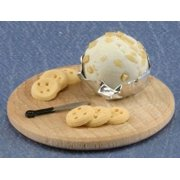 Dollhouse Swedish Cheese Ball W/Cracker