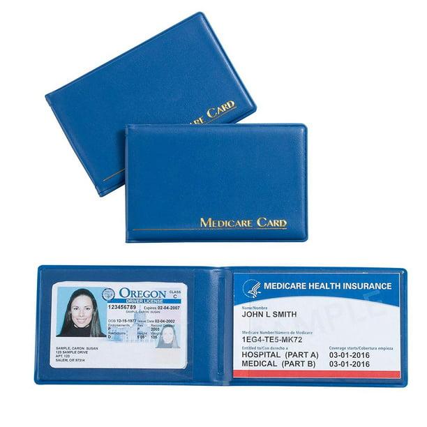 3-Pack Medicare Card ID Holder, Medicare Card Protector ...